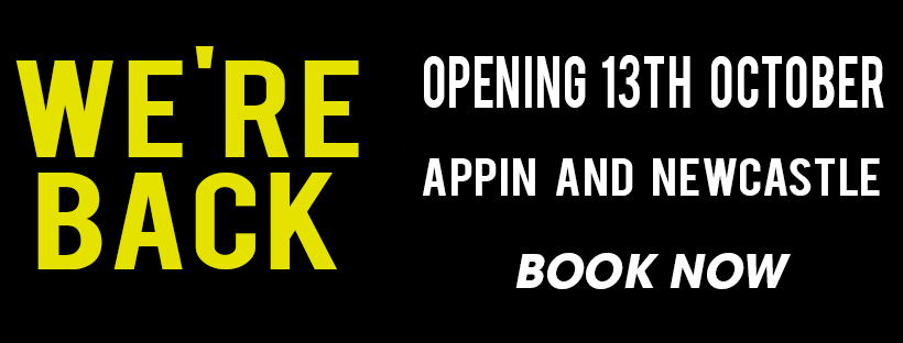 Appin and Newcastle Opening Banner